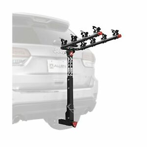 Allen Sports 4-Bike Hitch Racks for 2 in. Hitch Deluxe Locking
