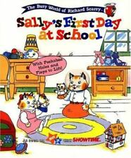 RICHARD SCARRY BEST BOARD BOOKS SALLYS FIRST DAY AT SCHOOL