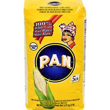 P.A.N. White Corn Meal, 5 Lb Bag