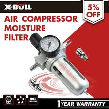 X-BULL Moisture Water Air Compressor Trap Filter Regulator Separator With Mount