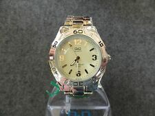 New - Q&Q Quartz Men's Watch - Nice Dial - 5 Bar Water Resist - MSRP $59.95
