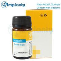 Haemostatic Sponge Collagen Iodoform Dental Sterile Absorbable Gelfoam Surgical