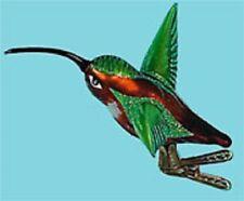 Allen Hummingbird Glass Christmas Bird Ornament Decor