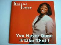 SALENA JONES you never done it like that (sealed CD, album) contemporary jazz,