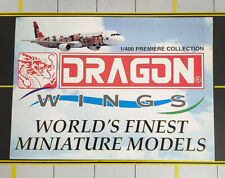 Dragon Wings Airliners Airplanes Aircraft Large Sticker 1/400 World Finest NEAT