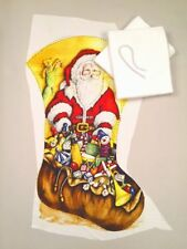 Make Your Own Large Santa Christmas Stocking Kit