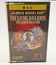 James bond 007 high voltage Commodore 64 spain vintage msx spectrum year 1987