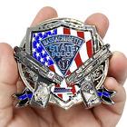 BD-003 MSP Big Medallion Massachusetts State Police Trooper Large Challenge Coin