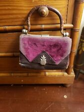 Antique Leather Doll Purse