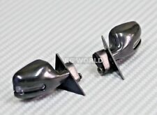 1/10 RC Car Truck SIDE VIEW MIRRORS w/ L.E.D Square