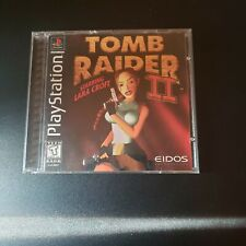 Tomb Raider Ii 2 Original (Sony PlayStation 1, 1997) Complete ps1