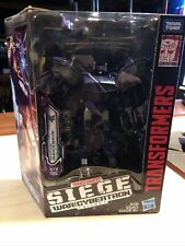 Transformers Siege War For Cybertron Leader Class Shockwave  New In Box