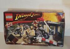 LEGO 7620 Indiana Jones MOTORCYCLE CHASE NEW 3 mini figures - Professor & Guard
