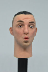 head 1/6 scale male head sculpt with expression fp sp 001