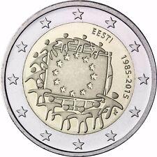 Estland 2 Euro Gedenkmünze 2015 bfr. 30 Jahre Europaflagge