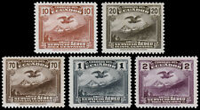 Ecuador Scott C51-C52, C54-C56 (1937) Mint LH VF, CV $58.50
