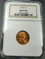 1953 D LINCOLN CENT PENNY NGC MS65 UNC MS65RD MS 65  US COIN QUANTITY AVAILABLE