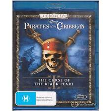 BLU-RAY PIRATES OF THE CARIBBEAN CURSE OF BLACK PEARL ALL REGION NOT SEALED [BN]