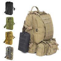 Men's Outdoor Military Tactical Backpack Sport Trekking Camping Hiking Bag