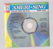karaoke cdg NEW Sealed AMERI-SING FEMALE R & B HIP-HOP-1033-Alicia Keys-J. lopez