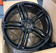 "22""X 4 rs6 black alloy wheels for audi q7/vw tourag 5x130/porsche cayenne"