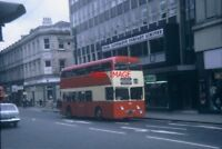 PHOTO  1968 A MOTORBUS IN HUDDERSFIELD TOWN CENTRE TAKEN IN APRIL 1968 THIS PHOT