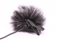 Lavalier Mic Windscreen Audio-Technica Shure SONY Rode Φ10mm Lapel Clip Micropho
