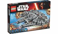 STAR WARS LEGO 75105 Force Awakens MILLENNIUM FALCON 7 Mini-figs Ages 8+ NEW