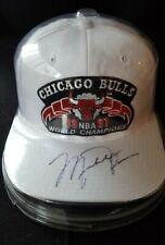 Michael Jordan Autographed NBA World Champions Chicago Bulls Hat/JSA LOA🔥HOT🔥