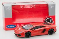Lamborghini Aventador LP 700-4 , Welly 44042, scale 1:43, model toy car boy gift