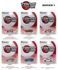 TOKYO TORQUE / RELEASE 1, SET OF 6 CARS 1/64 DIECAST MODELS BY GREENLIGHT 29880