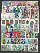 SPAIN 1966 COMPLETE YEAR STAMP COLLECTION 67 Values Mint Never Hinged