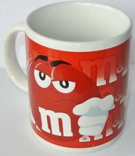 Coffee Mug-Tasse à Café * m&m 's * rouge-US IMPORT 2002