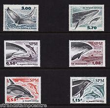 "Francia (SAINT PIERRE) - le balene e delfini-U / M - 2000 + 2004 + 2005 ""Bundle"""