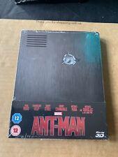 Ant Man (2015) Blu Ray Steelbook NEW & SEALED Rare & OOP Marvel Avengers