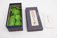 Poker Chips Type Vintage Chinese Game (C3R) #4 Green Chips 90 Chips