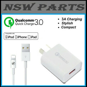 AC Wall Charger Adapter for Apple iPhone XR XS X 8 7 SE 13 11 12 Pro Max Mini 5