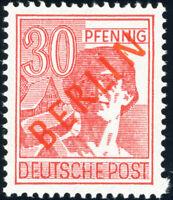 BERLIN 1949, MiNr. 28 II, tadellos postfrisch, Befund Schlegel, Mi. 350,-