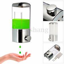 500ml Wall Mounted Bathroom Shower Lotion Shampoo Liquid Soap Dispenser Pump