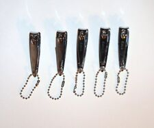 5 FINGER NAIL CLIPPERS HIGH SALON QUALITY MADE IN KOREA, SHARP USA SHIPPER!!