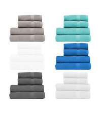 Hand towels Guest/Gym luxury super soft 100% cotton 450 Gsm Absorbent 50x80 cm.