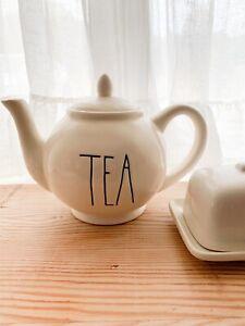 Rae Dunn Ceramic Tea Pot - Rare!
