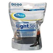 Scholl Flight Socks Black 1 Pair Shoe Sizes 3-6