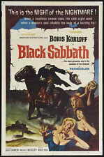 BLACK SABBATH Movie POSTER 27x40 B Michele Mercier Lidia Alfonsi Boris Karloff