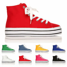 Canvas Lace-up Casual Shoes for Women