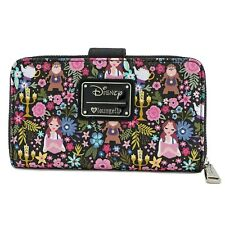 Loungefly Disney Beauty and the Beast Belle Floral Faux Leather Wallet WDWA0704