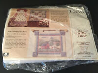 Creative Circle Wallhanging Kit 1030 Little Country Home New Old Stock Sealed