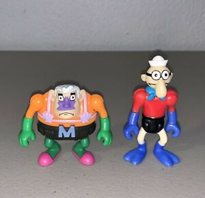 *MINT* Imaginext Spongebob Squarepants Figures Mermaid Man & Barnacle Boy