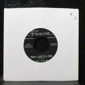 """Ned Miller - From A Jack To A King / Parade Of Broken Hearts 7"""" Mint- Fabor 114"""