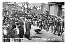pt4637 - Withernsea , Kings funeral service 20 May 1910 , Yorkshire - photo 6x4